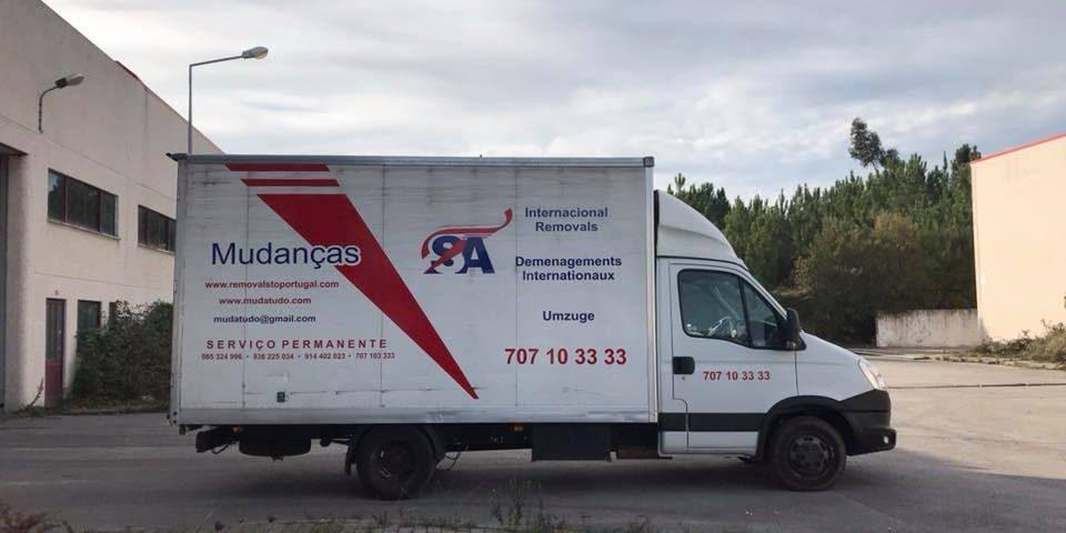 Nova Viatura em Frota | Empresa de Mudanças