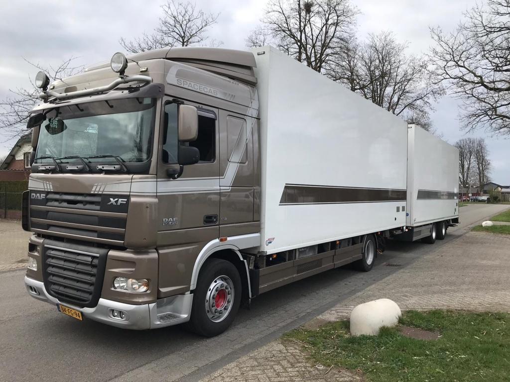 Jumbo truck 110 m3 box